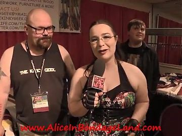 Femdom Fetish Convention Interviews Behind the Scenes DomCon